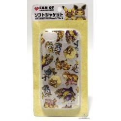 Pokemon Center 2018 Fan Of Pikachu & Eevee Campaign Poncho Pikachu Eevee Slowpoke Whimsicott & Friends iPhone 6/6s/7/8 Mobile Phone Soft Cover
