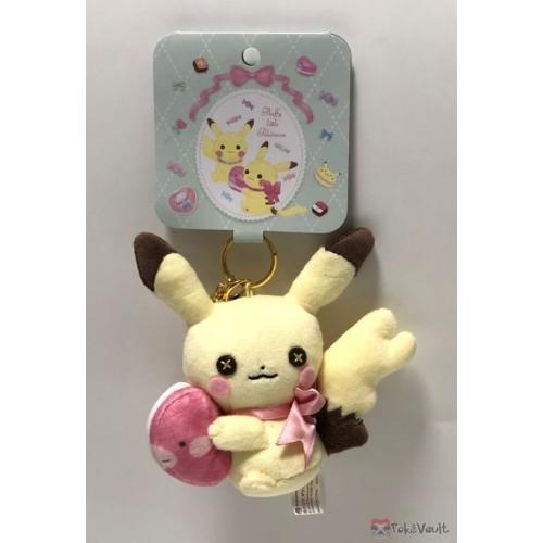 Pokemon Center 2019 Fluffy Little Pokemon Campaign Pikachu Female Luvdisc Mascot Plush Keychain