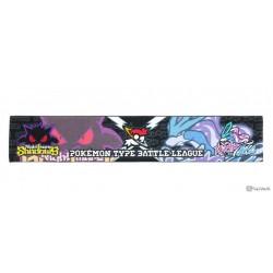 Pokemon Center 2017 Pokemon Graffix Campaign Gengar Suicune Long Scarf Towel & Wristband Set
