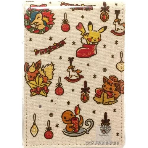 Pokemon 2017 Pokemon Love Its Demo Christmas Campaign Vulpix Flareon Cyndaquil Charmander Ponyta Pikachu Folding Stand Mirror