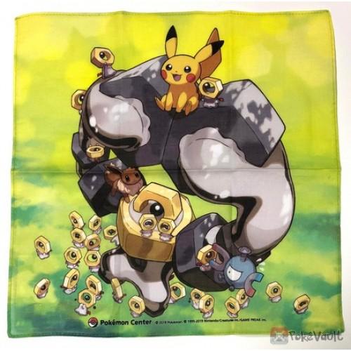 Pokemon Center 2019 Meltan Melmetal Eevee & Friends Cloth Handkerchief