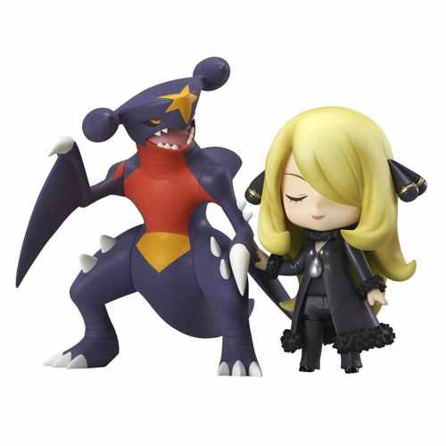 Pokemon Center 2015 Cynthia Garchomp Nendoroid Figure