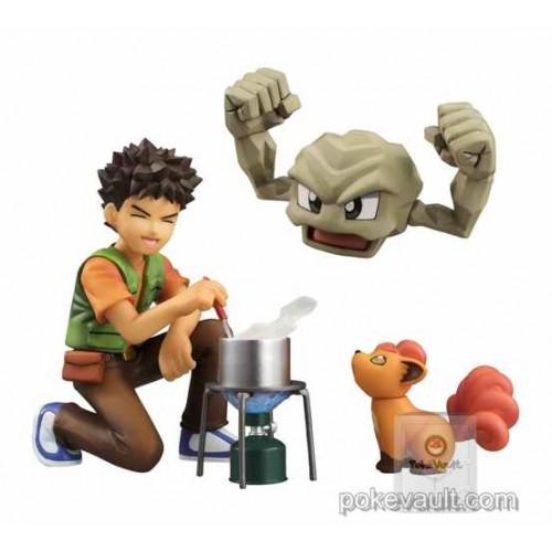 Pokemon Center 2016 G.E.M. Brock Geodude Vulpix Figure