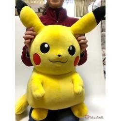 Pokemon 2018 Takara Tomy Online Giant Size Squishy Pikachu Plush Toy