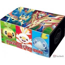 Pokemon Center Online 2019 Zacian Zamazenta & Friends Fold Up Large Size Cardboard Storage Box NOT SOLD IN STORES