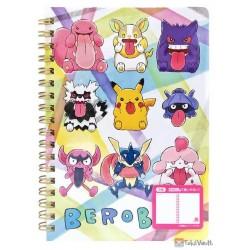 Pokemon Center 2020 Greninja Slurpuff Berobe Small Spiral Notebook #2