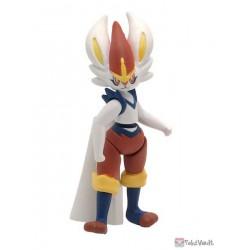 Pokemon 2021 Cinderace Bandai Action Figure Collection Series #2 Figure