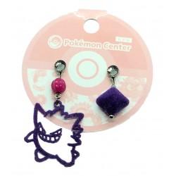 Pokemon Center 2020 Gengar Set Of 2 Earrings