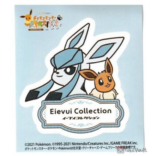 Pokemon Center Online 2021 Glaceon Eevee Collection Sticker