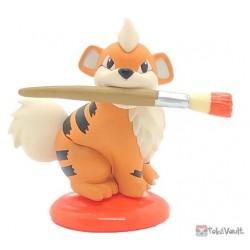 Pokemon 2020 Growlithe Kitan Club Palette Orange Collection Figure