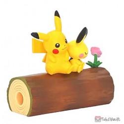 Pokemon 2021 Pikachu Pichu Re-Ment Good Friends Tree Figure