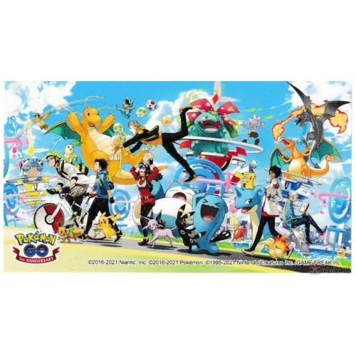 Pokemon Center Online 2021 Pokemon GO 5th Anniversary Sticker #4
