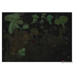 Pokemon Center 2021 Alcremie Eevee Mysterious Tea Party Glow In The Dark File Folder