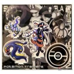Pokemon Center 2020 Emmet Ingo Pokemon Trainers #2 Keychain Stand