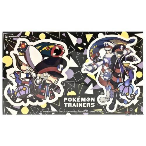 Pokemon Center 2020 Emmet Ingo Pokemon Trainers #2 Set Of 2 Stickers