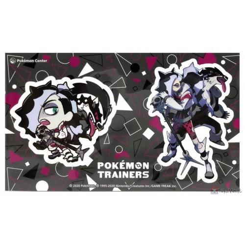 Pokemon Center 2020 Piers Galarian Obstagoon Pokemon Trainers #2 Set Of 2 Stickers
