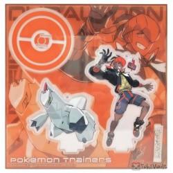 Pokemon Center 2020 Raihan Duraludon Pokemon Trainers #2 Keychain Stand