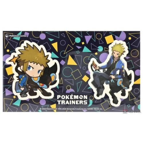 Pokemon Center 2020 Volkner Luxray Pokemon Trainers #2 Set Of 2 Stickers