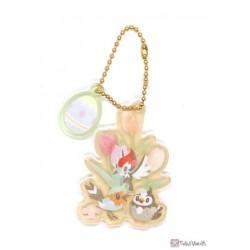 Pokemon Center 2021 Fletchling Pikipek Starly Easter Acrylic Keychain Charm With Egg #8