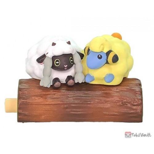 Pokemon 2021 Wooloo Mareep Re-Ment Good Friends Tree Figure