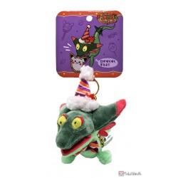Pokemon Center 2021 Dreepy Halloween Pumpkin Banquet Mascot Plush Keychain