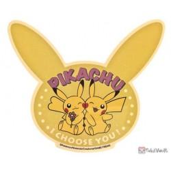 Pokemon 2021 Pikachu Large Retro Travel Sticker (Version D)
