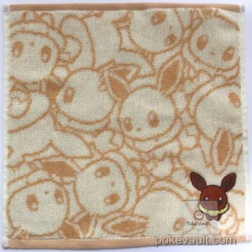 "Pokemon Center 2017 Eevee Collection ""Dolls"" Campaign Eevee Mini Hand Towel"