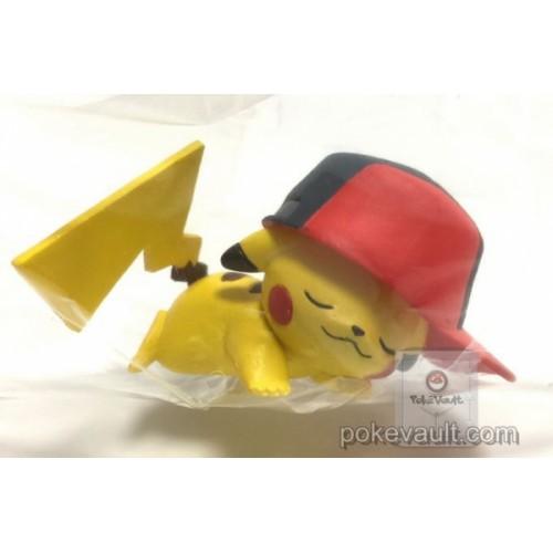 Pokemon Center 2017 Pikachu Album Collection Campaign Ash Hat Pikachu Gashapon Figure (Version #3 Sinnoh)