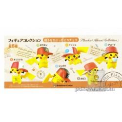 Pokemon Center 2017 Pikachu Album Collection Campaign Ash Hat Pikachu Gashapon Figure (Version #4 Unova)