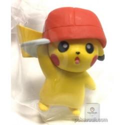 Pokemon Center 2017 Pikachu Album Collection Campaign Ash Hat Pikachu Gashapon Figure (Version #5 Kalos)