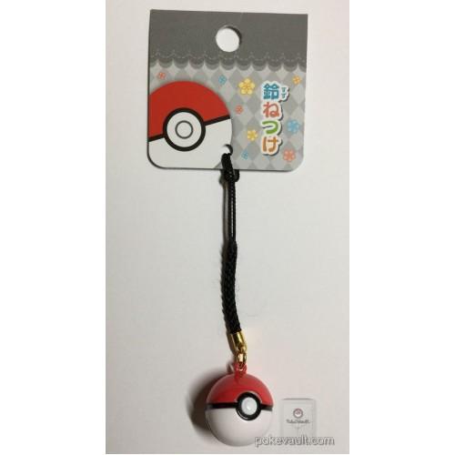 Pokemon Center 2017 Pokeball Mobile Phone Strap Bell Charm