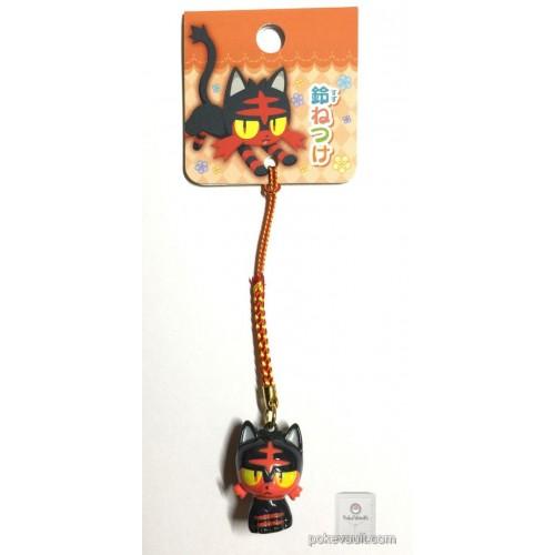 Pokemon Center 2017 Litten Mobile Phone Strap Bell Charm