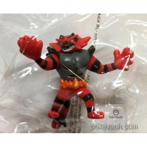 Pokemon Center 2017 Chupa Surprise Movie Version Series Pokeball Incineroar Figure & Candy