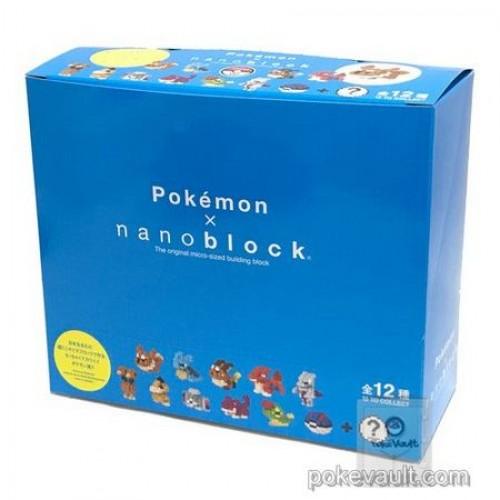 Pokemon Center 2017 Nano MINI Pokemon Series #2 Complete 12 Figure Set