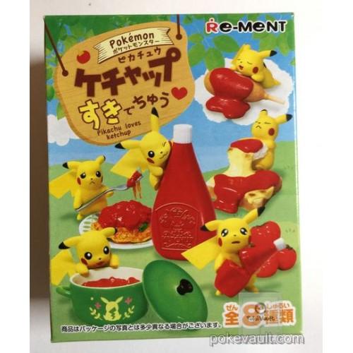Pokemon Center 2017 Pikachu Loves Ketchup Series RANDOM Figure