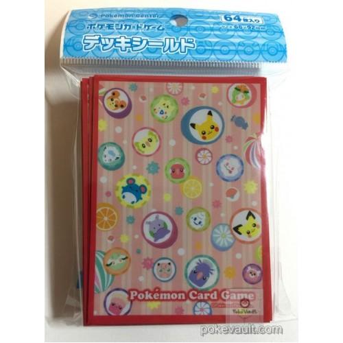 Pokemon Center 2017 Japanese Pattern Campaign #2 Alolan Vulpix Goomy Oricorio & Friends Set Of 64 Deck Sleeves (Version #2 Candy Pattern)