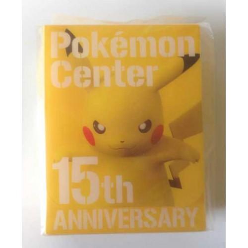 Pokemon Center 2013 15th Anniversary Pikachu Premium Card Deck Box