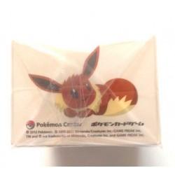 Pokemon Center 2012 Eevee Collection Eevee Espeon Flareon Glaceon Jolteon Leafeon Umbreon Vaporeon Large Size Deck Box
