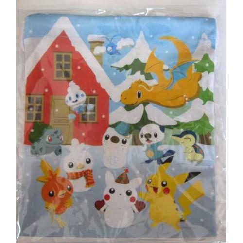 Drawstring Pokemon Dice Bag Charmander 100/% Cotton