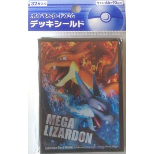 Pokemon Center 2014 XY#2 Wild Blaze Mega Charizard X Mega Charizard Y Set Of 32 Deck Sleeves