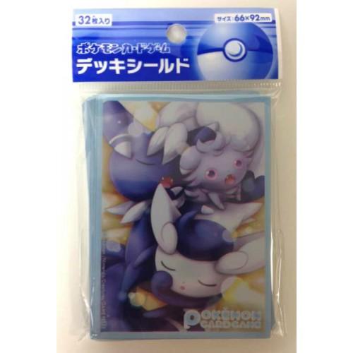 Pokemon Center 2014 XY#4 Phantom Gate Espurr Meowstic Set Of 32 Deck Sleeves