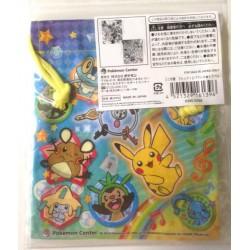 Pokemon Center 2014 Fennekin Klefki Froakie Jirachi Victini Darkrai & Friends Small Size Drawstring Dice Bag