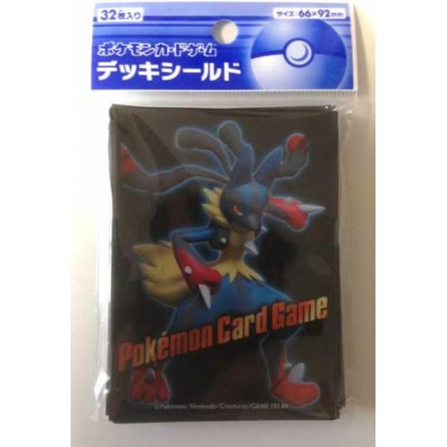 Pokemon Center 2014 XY#3 Rising Fist Mega Lucario Set Of 32 Deck Sleeves