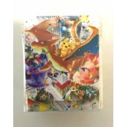 Pokemon Center Mega Tokyo 2015 Grand Opening Mega Charizard Y Pikachu & Friends Large Size Deck Box