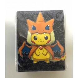 Pokemon Center Mega Tokyo 2015 Grand Opening Pikachu Pikazard Large Size Deck Box