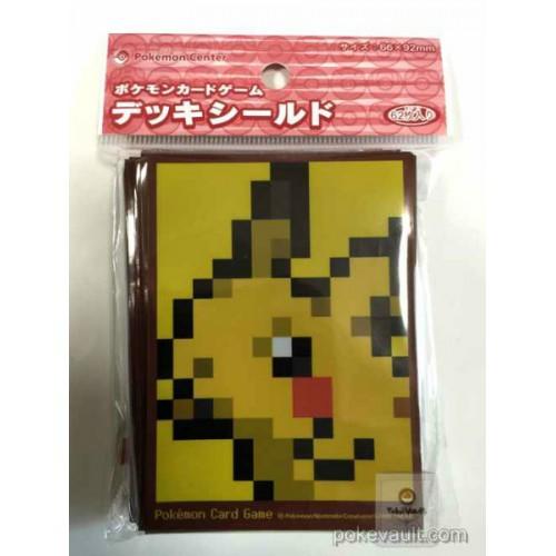 Pokemon Center 2015 Pikachu Dot Sprite Set Of 62 Deck Sleeves