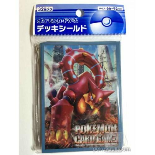 Pokemon Center 2016 XY#11 Explosive Fighter Cruel Traitor Volcanion Set Of 32 Deck Sleeves