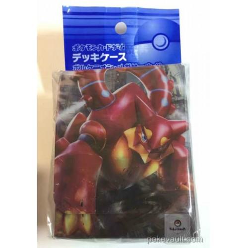 Pokemon Center 2016 XY#11 Explosive Fighter Cruel Traitor Volcanion Shiny Mega Gardevoir Magearna Large Size Deck Box