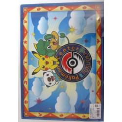 Pokemon Center Fukuoka 2012 Renewal 1st Anniversary Kyurem Hydreigon Reshiram Zekrom & Friends A4 Size Clear File Folder