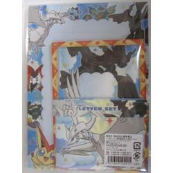 Pokemon Center Fukuoka 2012 Renewal 1st Anniversary Kyurem Hydreigon Reshiram Zekrom & Friends Letter Writing Set